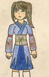 Suzuno Watanabe the Samurai - Redesign by MasterJiggywiggy