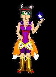Dungeons and Dragons OC: Huli - Kitsune Wu Jen by MasterJiggywiggy