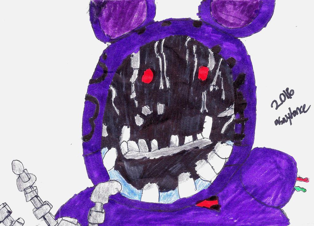 Old Bonnie 5 nights at Freddy's by kaydance01