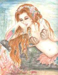 Sacred Mermiad by Kaleid0
