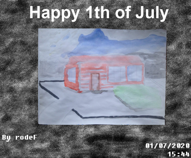 Happy 1th of July