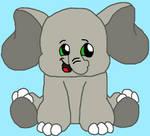webkinz sweet elephant drawing