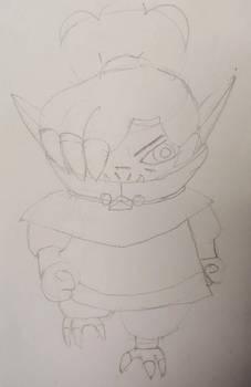 Pocket Sketches: Kikimora 4