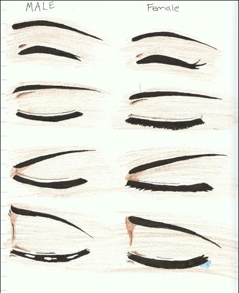 Anime Girl Eyes Closed: Manga Or Anime Eye Drawings 2 By Siouxstar On DeviantArt