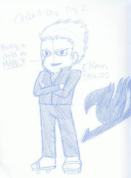 Chibi-A-Day series: Day 2- Elfman Strauss
