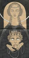 Sketch XIII - Ophelia`s betrayal