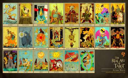 Tarot Nusantara Arcana Mayor