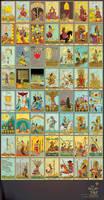 Tarot Nusantara Arcana Minor by transbonja