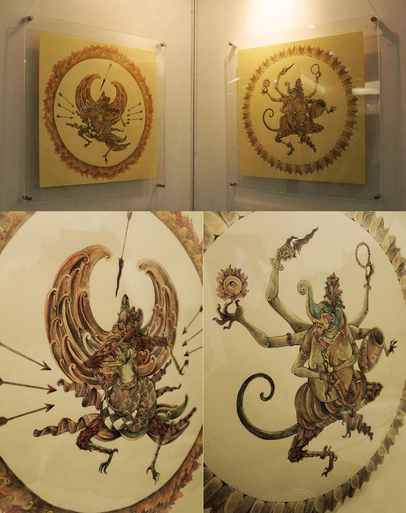 Jatayu dan Ganesha by transbonja