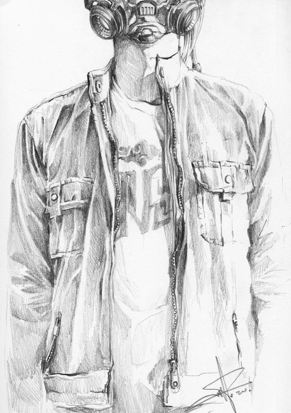 Self Portrait 01 by transbonja