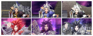 Kuja face shots