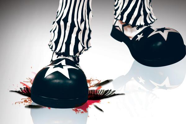 killer clown by rastafede