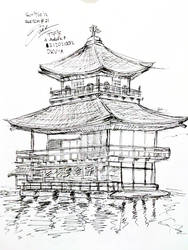 SKETCH#21 : Kinkaku-ji