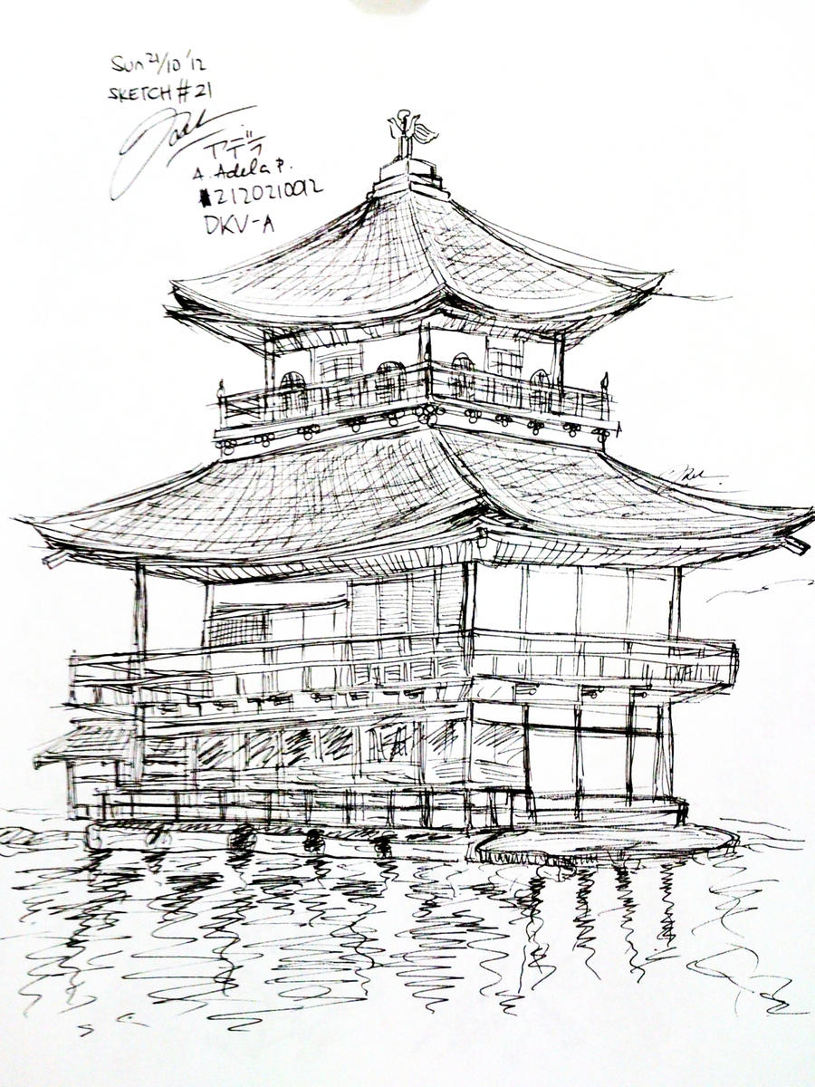 japanese castle coloring pages - photo#9