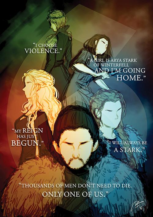 Game of Thrones Season 6 Tribute by Adela1015