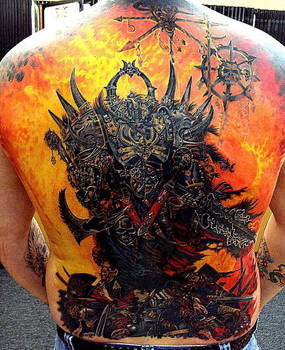 warhammer back piece