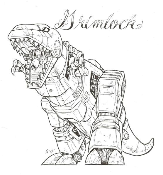 Partagez en image de cool Tatouages (+ vos tatouages) Grimlock_by_optimuspint