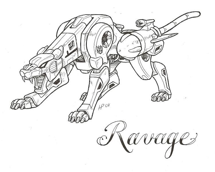 Partagez en image de cool Tatouages (+ vos tatouages) Ravage_by_optimuspint