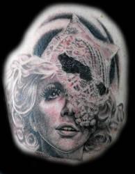 lady gaga tattoo by optimuspint
