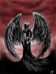 angel of death by LallySvarion