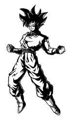 Goku by LallySvarion