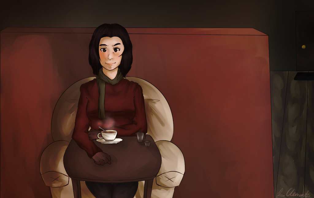 Cafe Of Solitude by TaffyToots