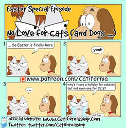 Mow Meow and Dum Dumb Easter Special by Catifornia