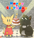 Happy 12th Birthday to Stormy! by Catifornia