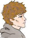 Jesse as Mark Zuckerberg