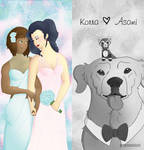 Legend of Korra: Korrasami Wedding