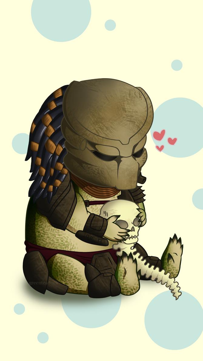 Predator: Phone Wallpaper by greenteaduck