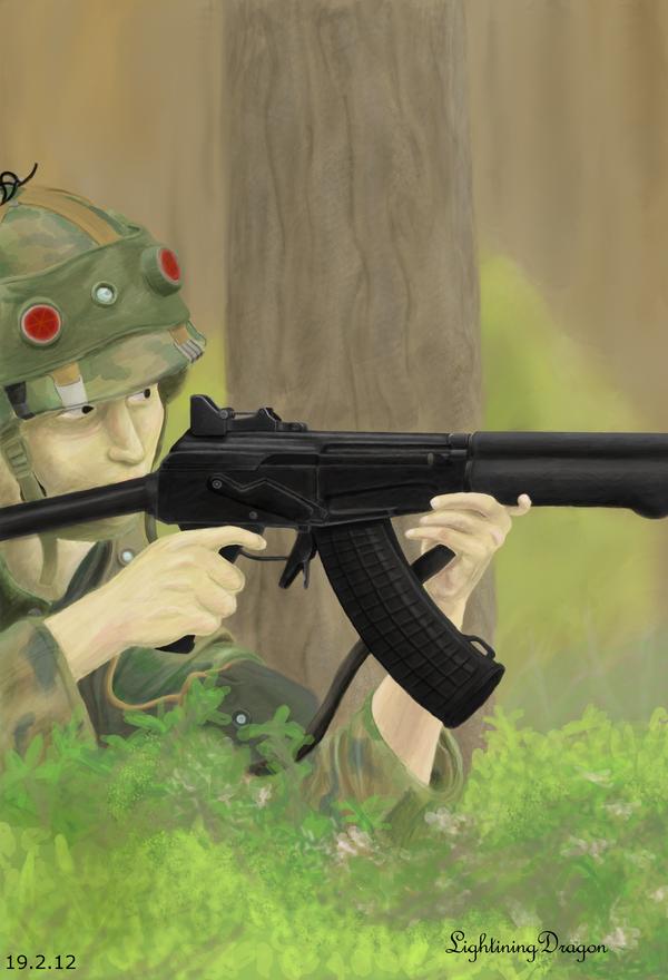Soldier by LightiningDragon