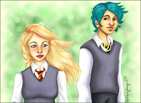 HP + Teddy and Victoire
