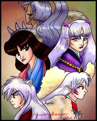 Inugami family by quirkypaynesgrey