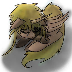 Sleeping pony Jareth by girorofan101