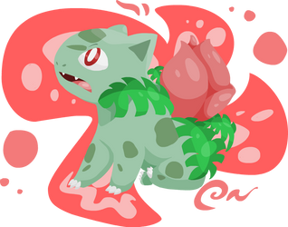 National Pokedex- Number 002- Ivysaur by girorofan101