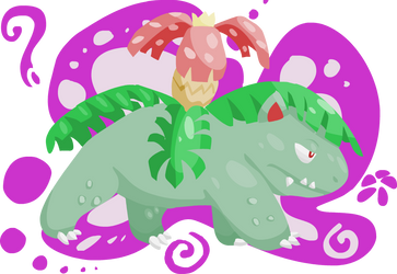 National Pokedex- Number 003- Venusaur by girorofan101