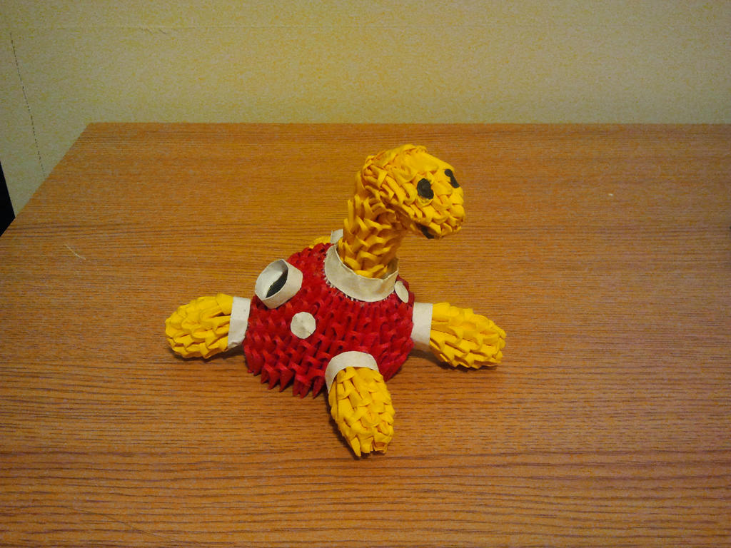 3D Origami Shuckle by pokegami on DeviantArt - photo#15