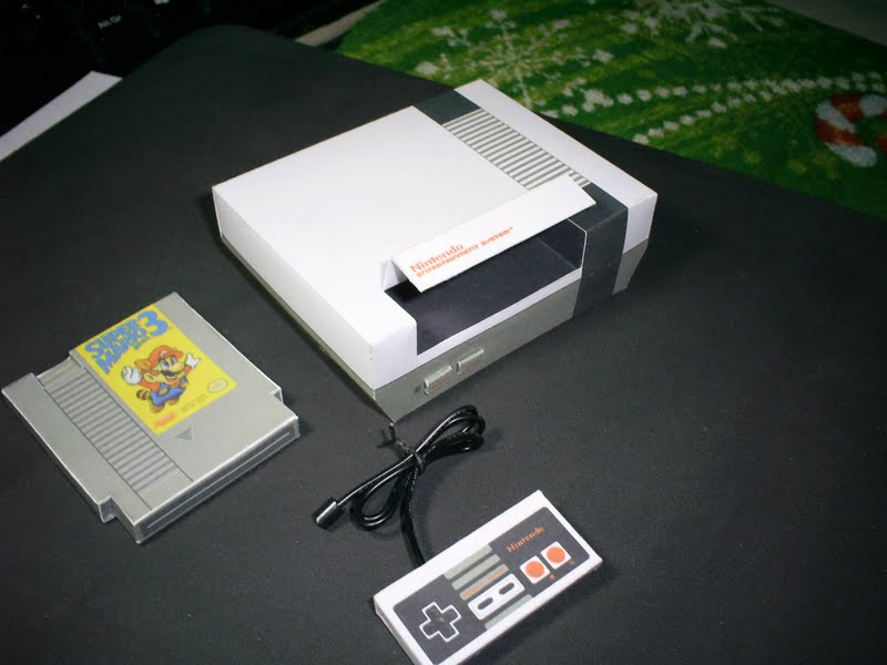 Related Keywords Amp Suggestions For Nes Papercraft