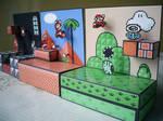 Diorama Mario 3 - Montado - 04