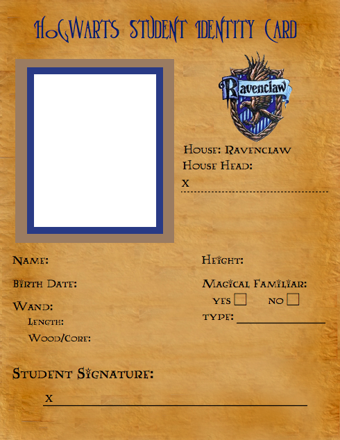 Ravenclaw id template by latuacantante98 on deviantart ravenclaw id template by latuacantante98 maxwellsz