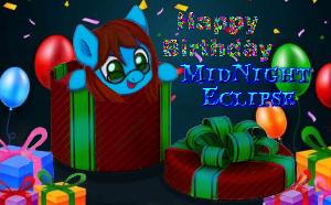 MidNight Eclipse OC -Birthday Gift by RainxFire