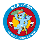 Logo of the Spanish Air Force's 20th Wing