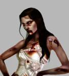 detail Zombie Couture Bride