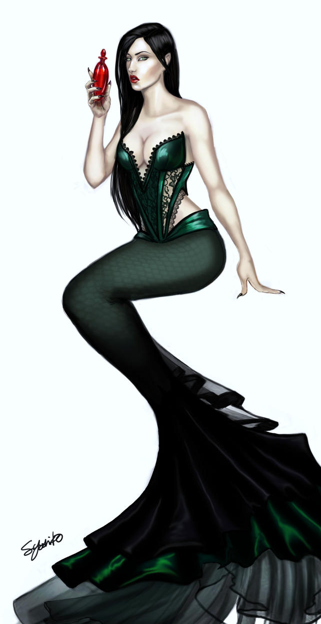 Leonie Mermaid Inspiration On Pinterest Sea Witch Mermaid Dresses And Sea Witch Costume