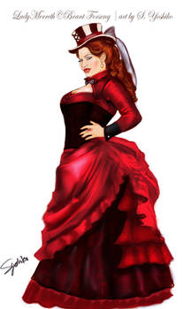 Lady Simma of Red Hand: Ready for the ball concept