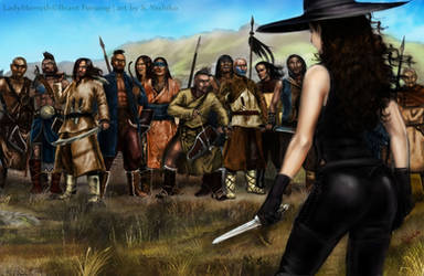 Lady Merreth Faces the Clan by SYoshiko
