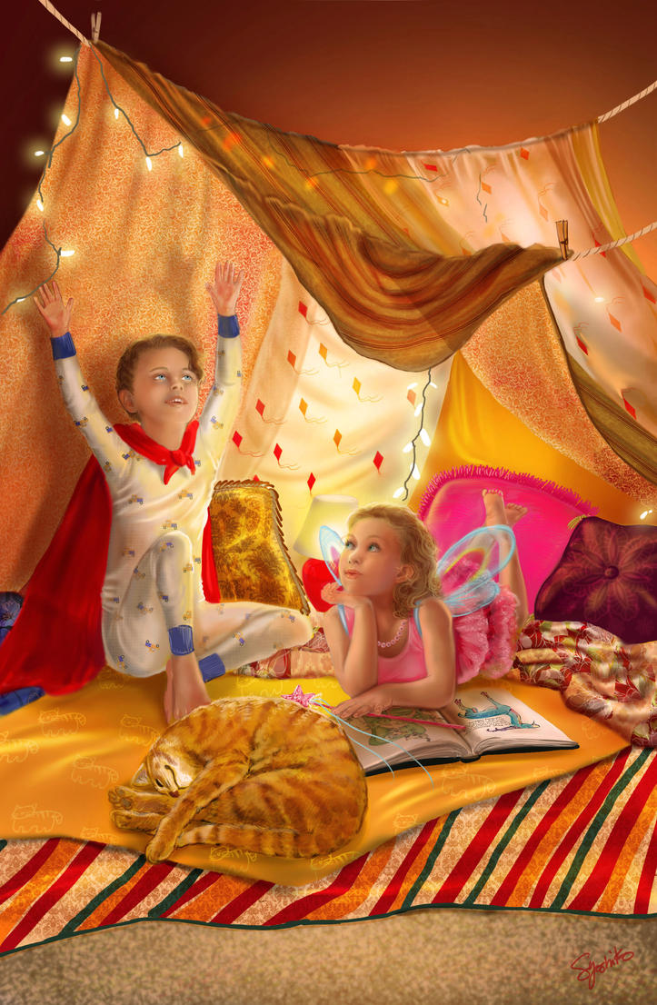 Blanket Fort By SYoshiko