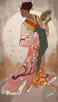Dusk Kimono by SYoshiko