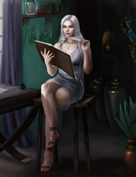 Elethia Delacourt  character commission